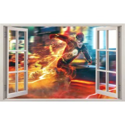 Stickers fenêtre Flash réf 11135