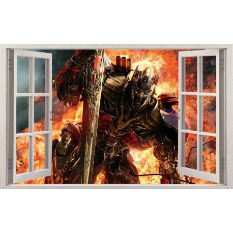 Stickers fenêtre Transformers réf 11204