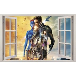 Stickers fenêtre X-men réf 11206