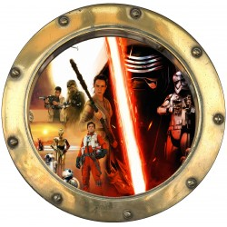 Sticker hublot Star Wars 9583