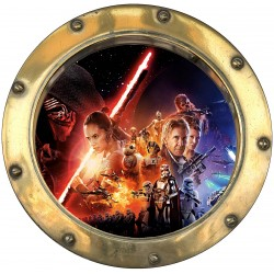Stickers hublot Star Wars 9584