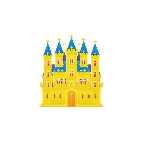 Sticker enfant Chateau 26x30cm