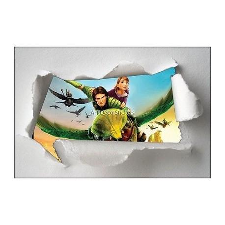 Stickers enfant papier déchiré Epic réf 7614