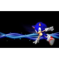 Sticker Autocollant Sonic réf 22555