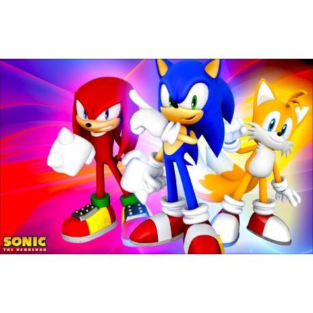 Sticker Autocollant Sonic réf 22560