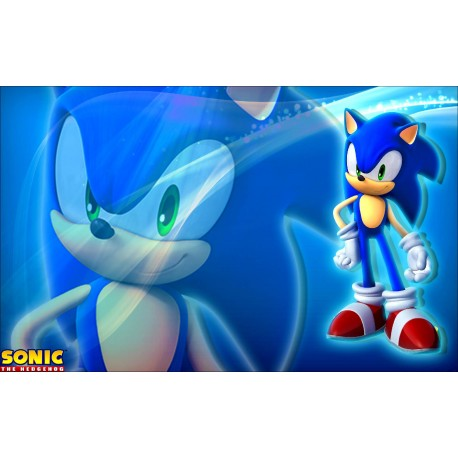 Sticker Autocollant Sonic réf 22561