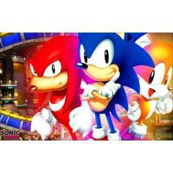 Sticker Autocollant Sonic réf 22562