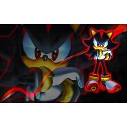 Sticker Autocollant Sonic réf 22563
