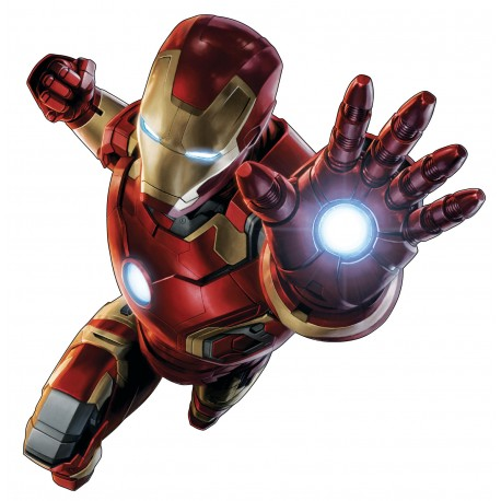 Sticker enfant ado Iron Man Avengers 15013