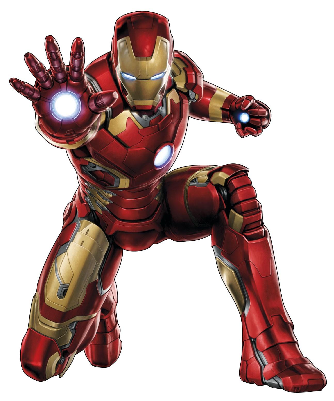 Dernière Iron Man Dessin Couleur Facile - Random Spirit