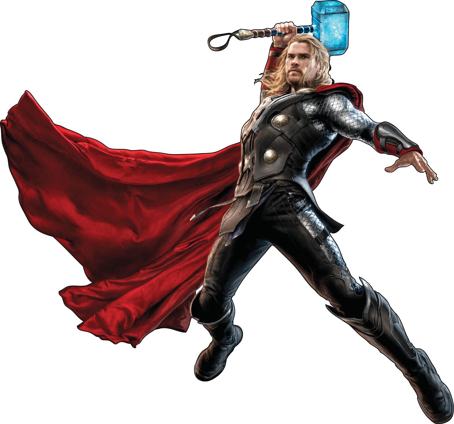 Quel est l'Avenger que tu préfères ? Stickers-enfant-Thor-Avengers-r--f-15024