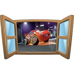 Sticker enfant fenêtre Disney Cars réf 976