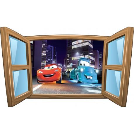 Sticker enfant fenêtre Cars réf 975