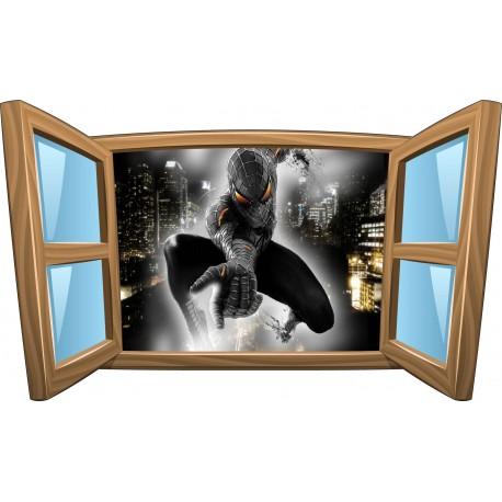 Sticker enfant fenêtre Spiderman Man réf 970