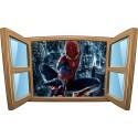 Sticker enfant fenêtre Spiderman réf 1010
