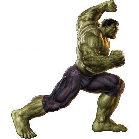 Sticker enfant ado Hulk Avengers 15011