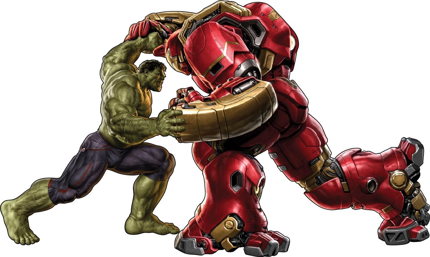 Stickers enfant hulk vs hulkbuster iron man réf 15012 stickers muraux enfant