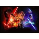 Stickers muraux géant Star Wars 22572