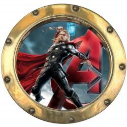 Stickers hublot Avengers Thor 9581