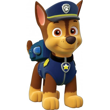 stickers paw patrol pat patrouille 15055 stickers muraux. Black Bedroom Furniture Sets. Home Design Ideas