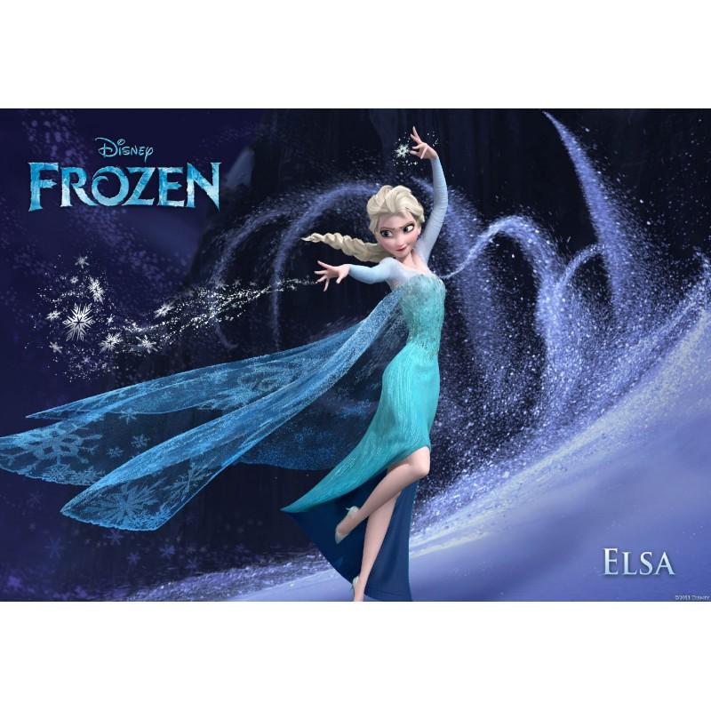 Stickers muraux g ant elsa frozen la reine des neiges - La reine des neiges frozen ...