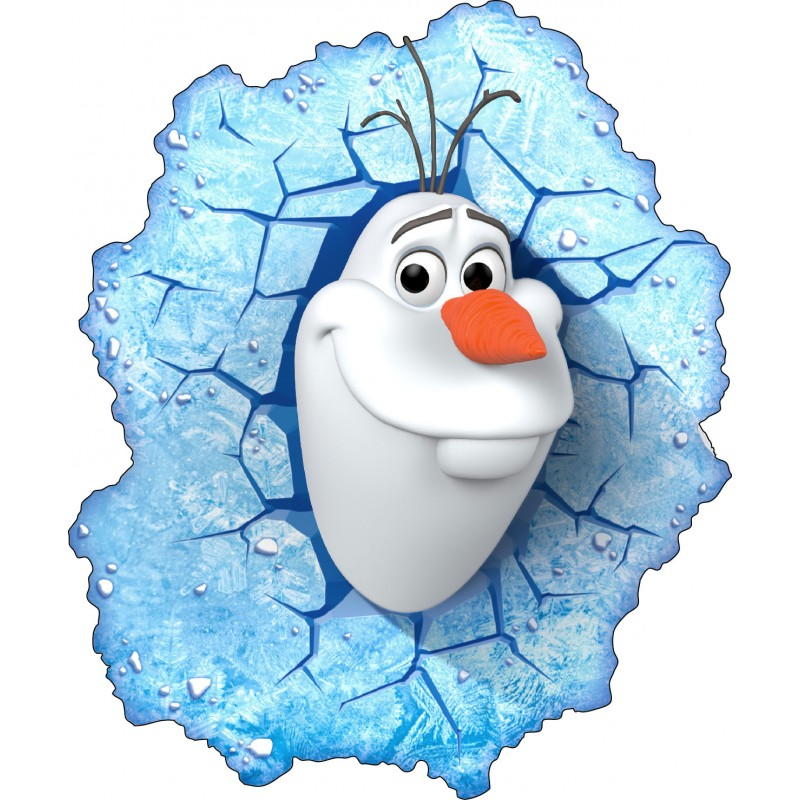 Stickers olaf frozen la reine des neiges 15033 stickers - Olafe la reine des neiges ...