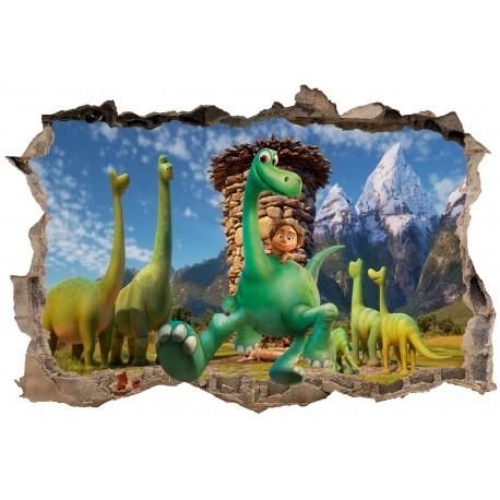 Stickers 3D le voyage d'Arlo réf 23412