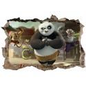 Stickers 3D Kun Fu Panda réf 23250