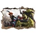 Stickers 3D Avengers réf 23311