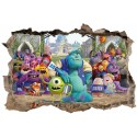 Stickers 3D Monstres et Compagnie réf 23613