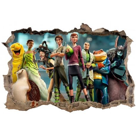 Stickers 3D Heroes réf 23618