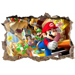 Stickers 3D Mario réf 23619