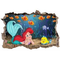 Stickers 3D Ariel réf 23630