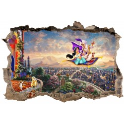Stickers 3D Aladin réf 23634