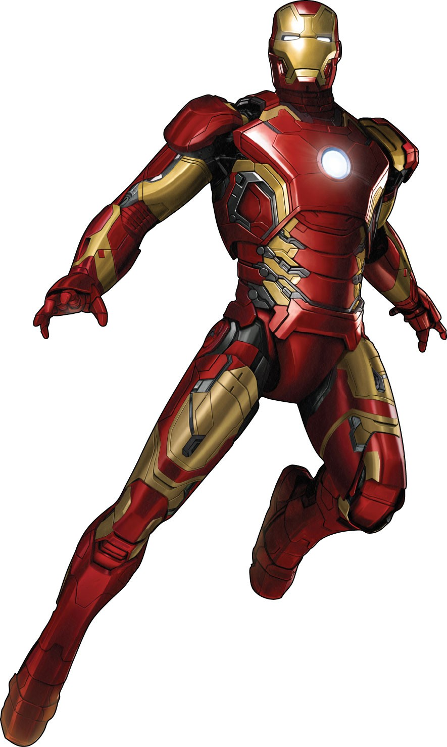 Stickers iron man avengers 15023 stickers muraux enfant