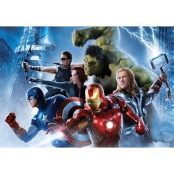 Papier peint enfant géant Avengers