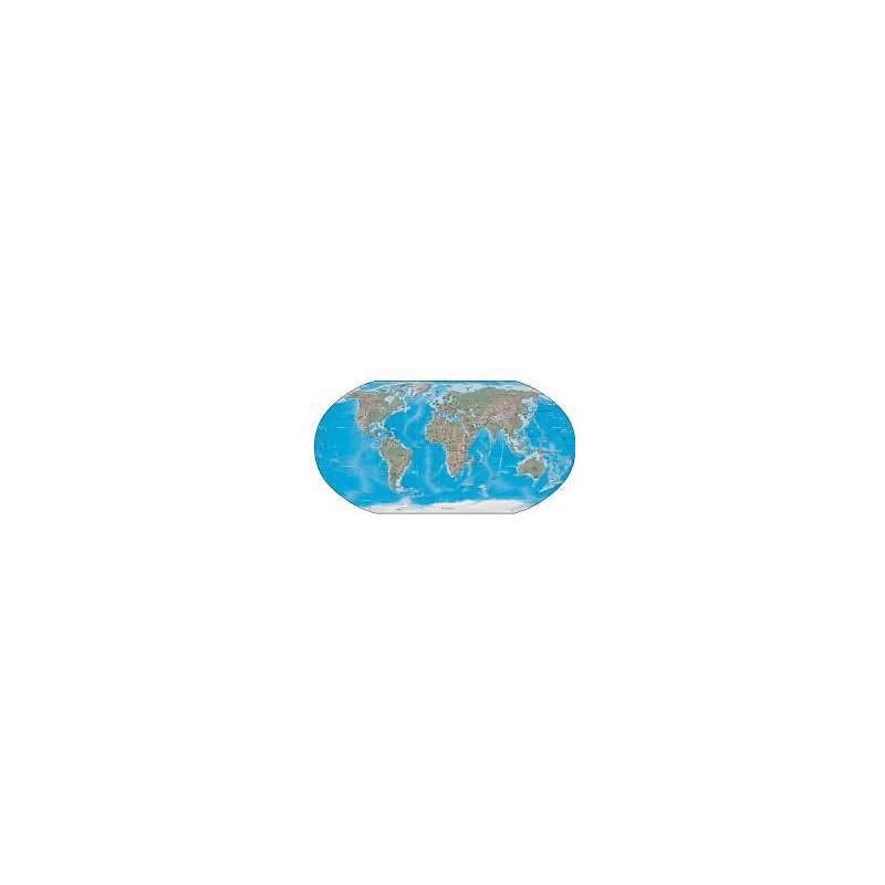 sticker mural carte du monde 32x16cm r f 521 stickers. Black Bedroom Furniture Sets. Home Design Ideas