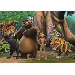 Papier peint enfant géant Le livre de la jungle