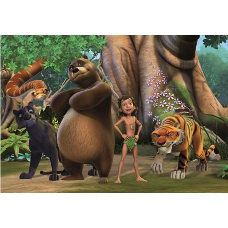 Papier Peint Enfant Geant Le Livre De La Jungle Stickers Muraux Enfant