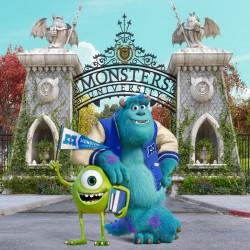 Papier peint géant Monstres Academy