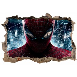 Stickers 3D Spiderman réf 23814