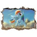 Stickers 3D Little Poney réf 23815