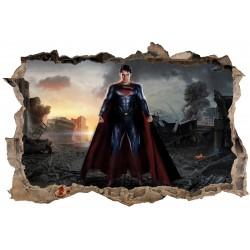 Stickers 3D Superman réf 23817