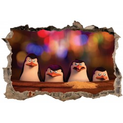 Stickers 3D Pingouins réf 23821