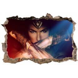 Stickers 3D Wonder Woman réf 23826