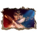 Stickers 3D Wonder Woman réf 23826