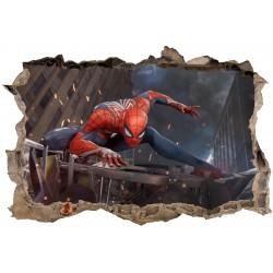 Stickers 3D Spiderman réf 23829