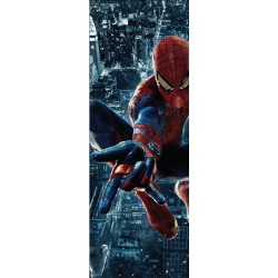 Stickers pour porte Spiderman réf 717