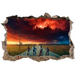 Stickers 3D Stranger Things réf 52463