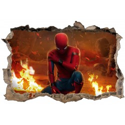 Stickers 3D Spider-Man réf 52472